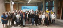 Professionals i voluntaris que han participat en la campanya de vacunació