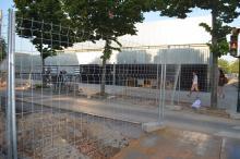 Obras para la instalación de un colector de saneamiento